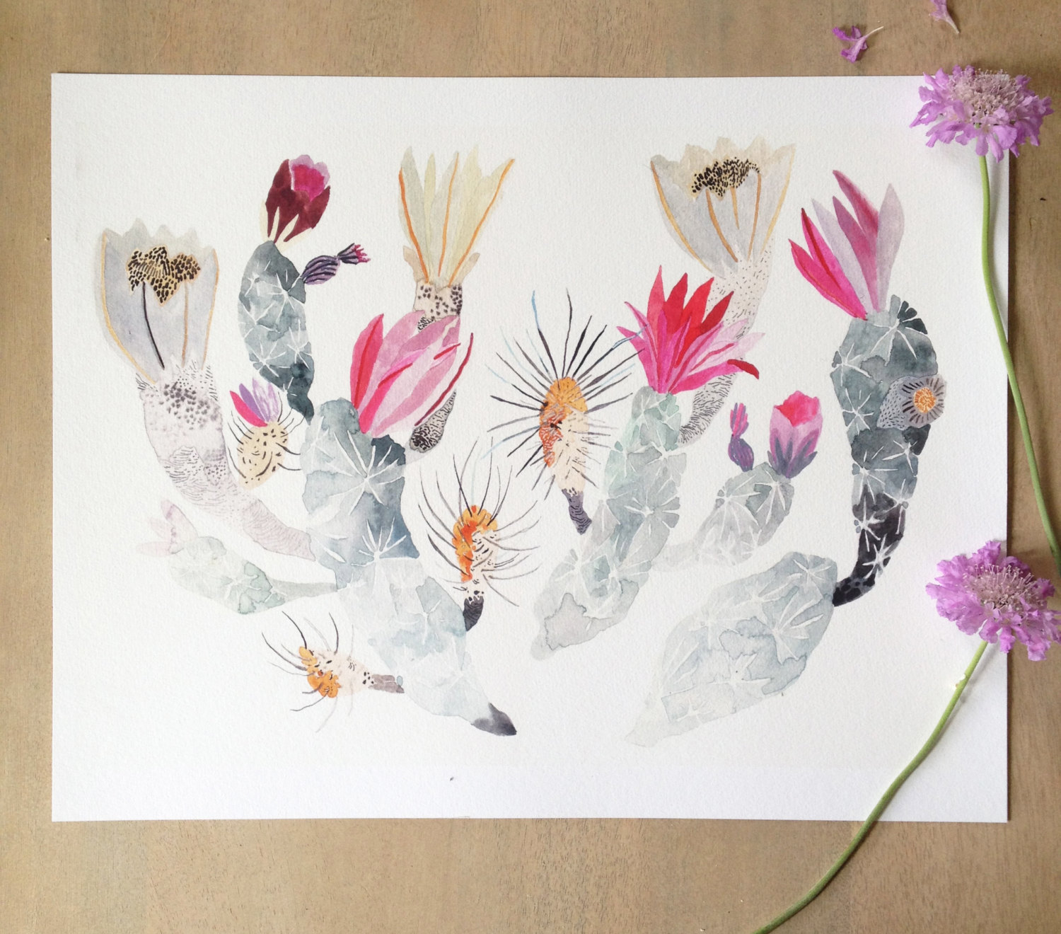 plant-watercolors-print-art-michelle-morin