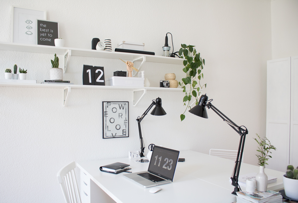 green home office berlin blogger 5 it 39 s pretty nice interior design diy. Black Bedroom Furniture Sets. Home Design Ideas