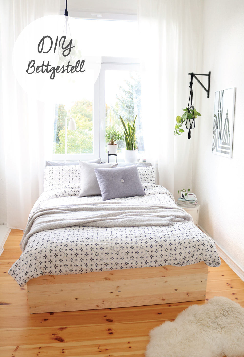 diy bettgestell aus holzplatten pretty nice. Black Bedroom Furniture Sets. Home Design Ideas